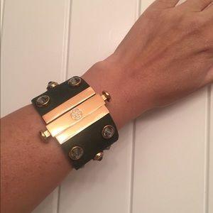 Troy Burch Leather Bracelet